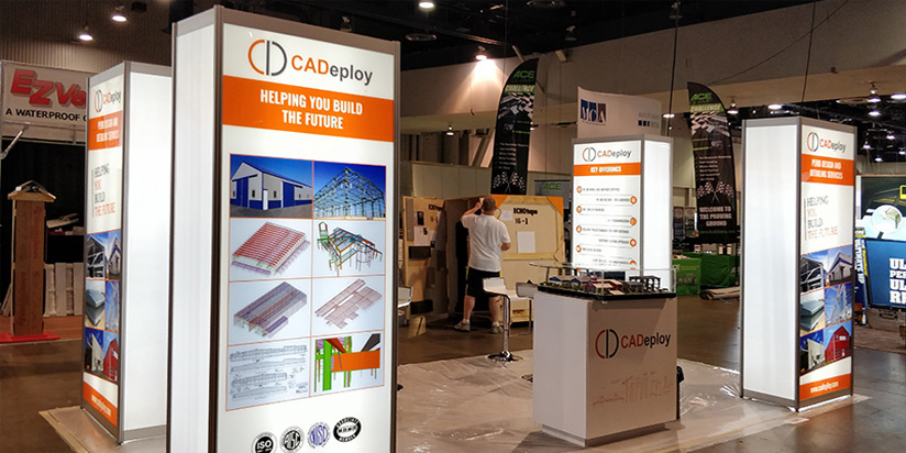 Cadeploy at Metalcon 2017, Our First PEMB Trade Show